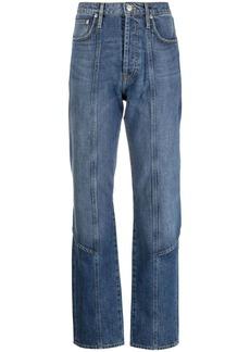 Kenzo tie-fastening apron jeans
