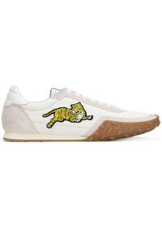 Kenzo tiger appliqué sneakers