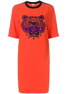Kenzo Tiger Crepe dress