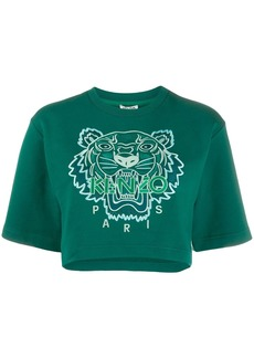 Kenzo Tiger cropped T-shirt