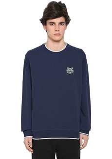 Kenzo Tiger Detail Cotton Sweatshirt