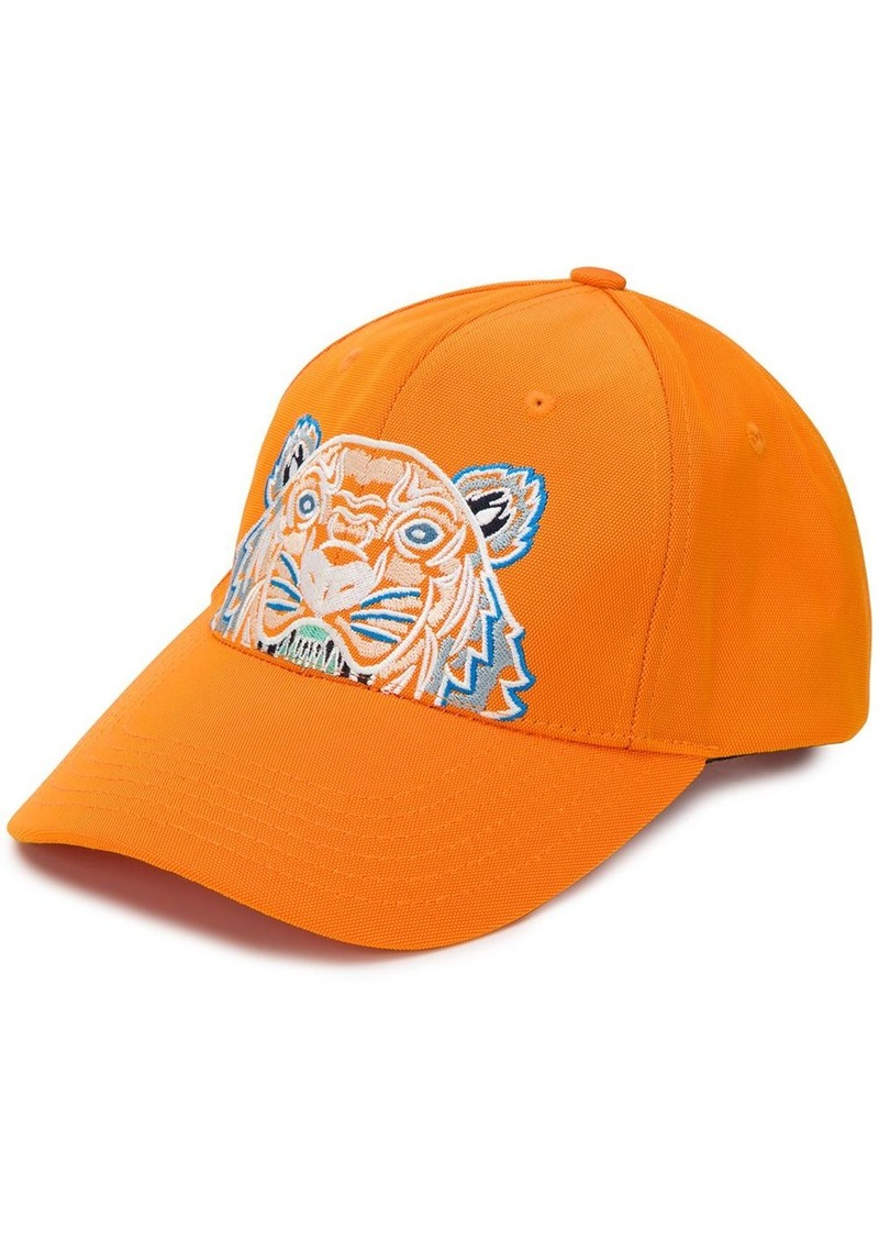 Kenzo tiger-embroidered cap