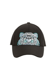 Kenzo Tiger Embroidered Canvas Hat