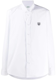 Kenzo tiger-embroidered shirt