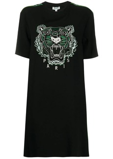 Kenzo tiger-embroidered T-shirt dress
