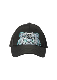 Kenzo Tiger Embroidered Techno Canvas Hat