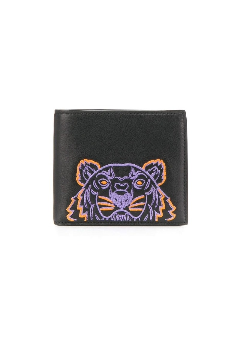 Kenzo tiger embroidered wallet