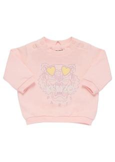 Kenzo Tiger Embroidery Organic Sweatshirt