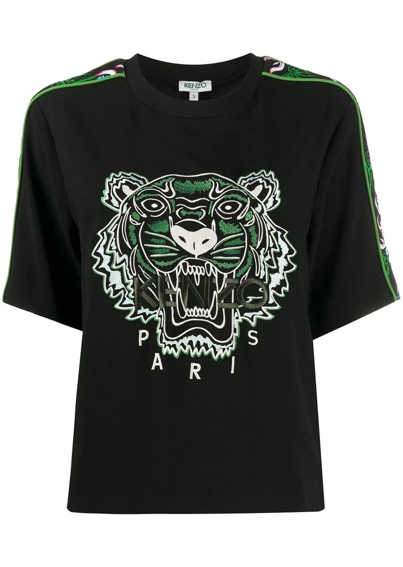 Kenzo Tiger embroidery relaxed-fit T-shirt