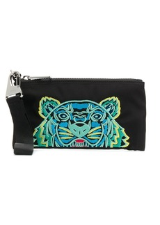 Kenzo Tiger embroidery wallet