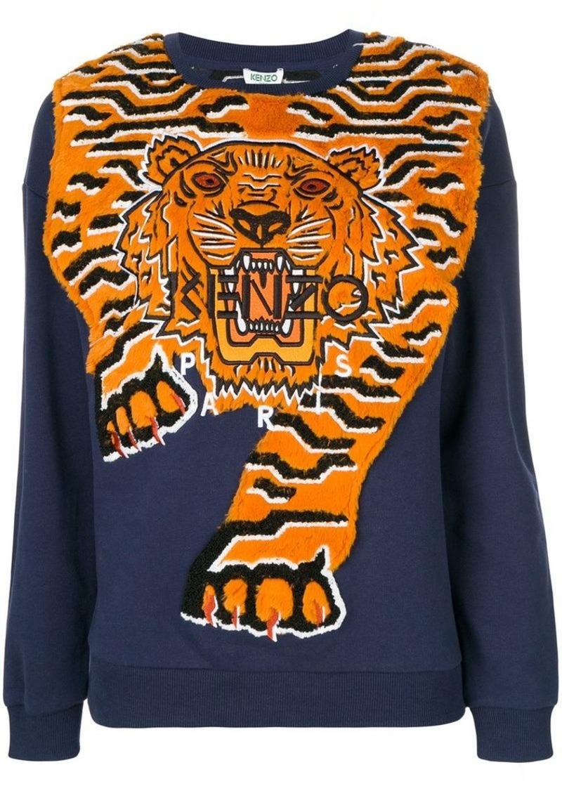096bc65f2 SALE! Kenzo Tiger Intarsia jumper