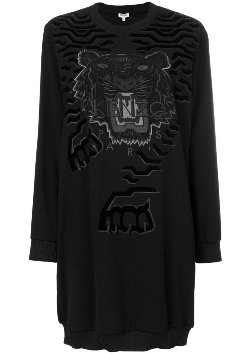 5f404b562ab Kenzo Tiger jumper dress