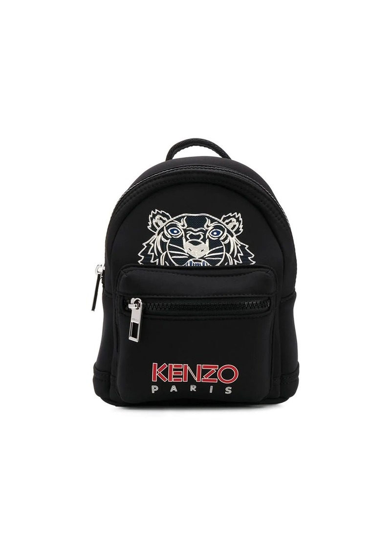 Kenzo tiger logo-print mini backpack