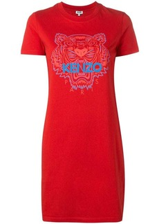 Kenzo Tiger logo T-shirt dress