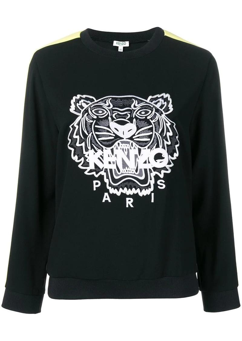 Kenzo Tiger panelled sweatshirt