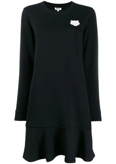 Kenzo Tiger patch knitted dress
