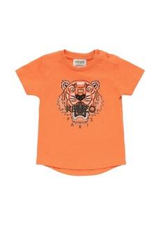 Kenzo Tiger Print Jersey T-shirt