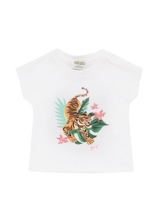 Kenzo Tiger Print Organic Cotton T-shirt