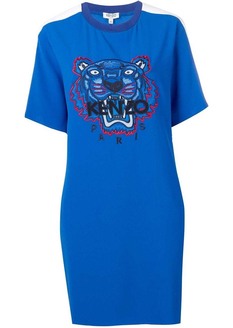 Kenzo tiger-print T-shirt dress
