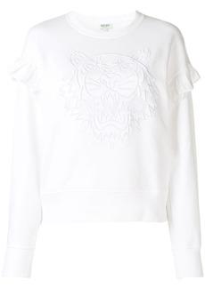 Kenzo tiger ruffled sweatshirt