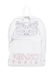 Kenzo Tiger transparent mesh backpack