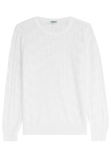 Kenzo Top with Cut-Out Pattern