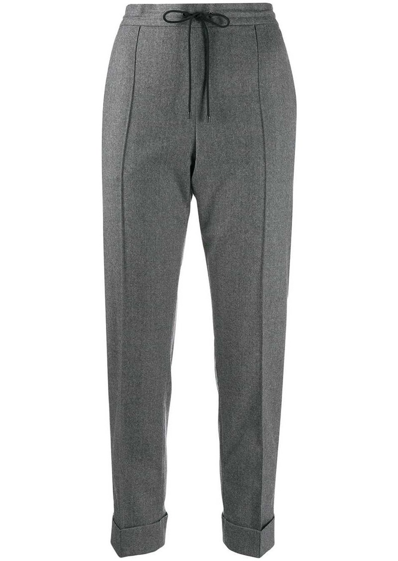 Kenzo turned-up hem tapered trousers