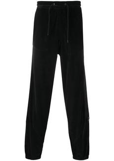 Kenzo velvet track pants