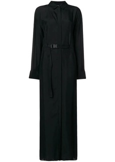 Kenzo waist fitted long dress