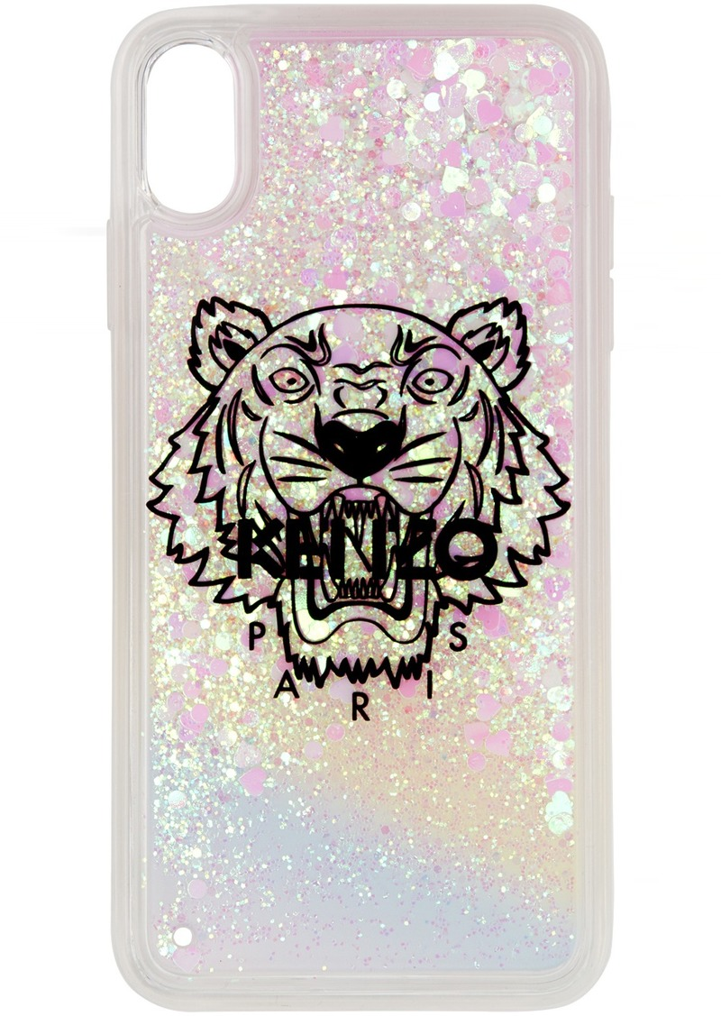 Kenzo White & Pink Tiger iPhone XS Max Case