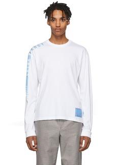 Kenzo White 'Extra Fancy' Long Sleeve T-Shirt