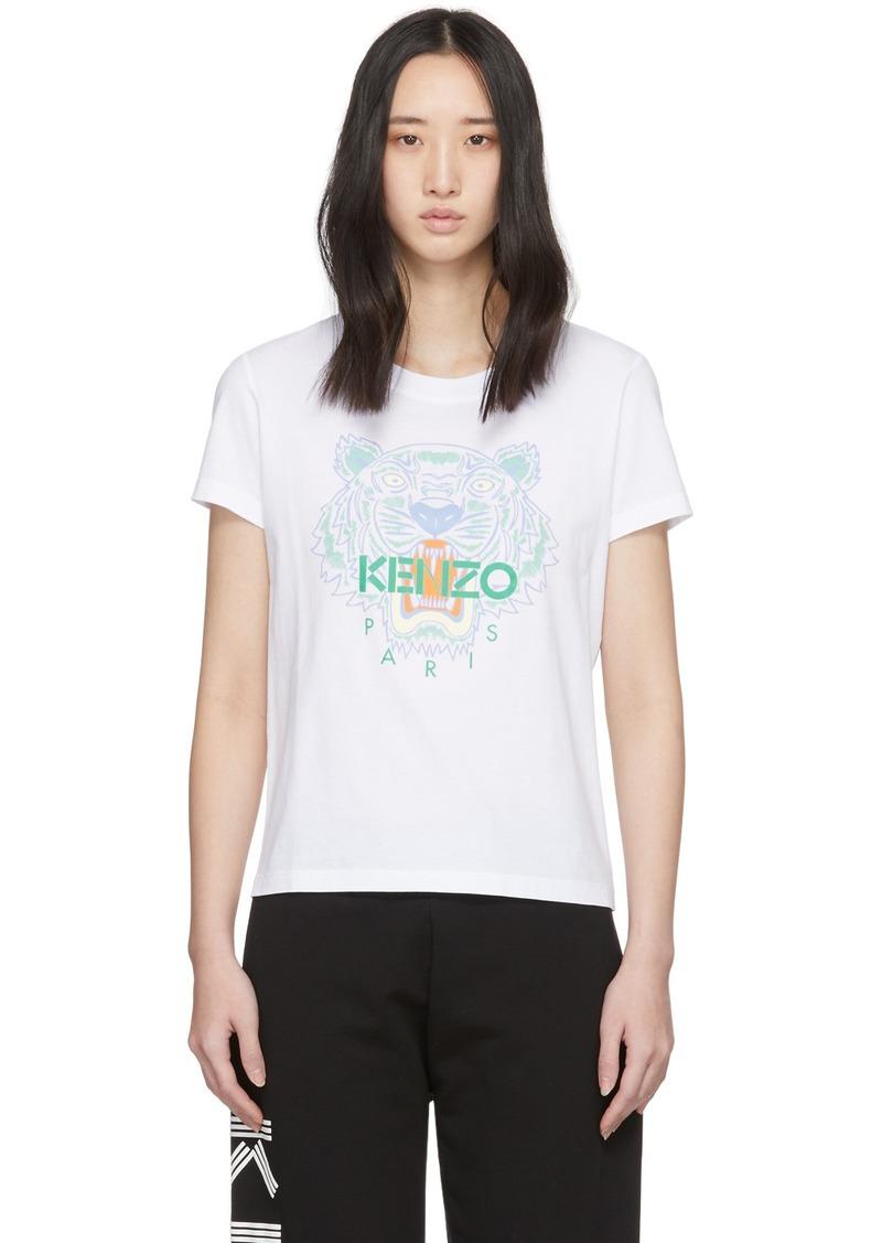 Kenzo White Tiger T-Shirt