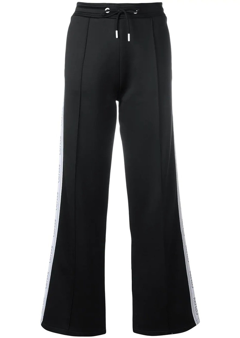Kenzo wide leg track trousers