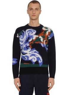 Kenzo Wool & Mohair World Sweater