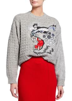 Kenzo x Kansai Yamamoto Embroidered Sweater