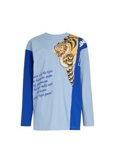 Kenzo x KANSAIYAMAMOTO - Fancy pattern long sleeves t-shirt