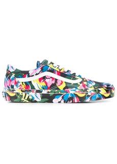 Kenzo x Vans floral-print Old Skool sneakers