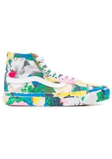 Kenzo x Vans floral-print Sk8-Hi sneakers