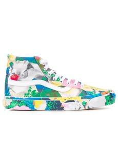 Kenzo x Vans stylised floral print Sk8-Hi sneakers