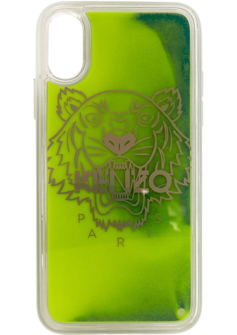 Kenzo Yellow & Green Glow-In-The-Dark iPhone X/XS Case