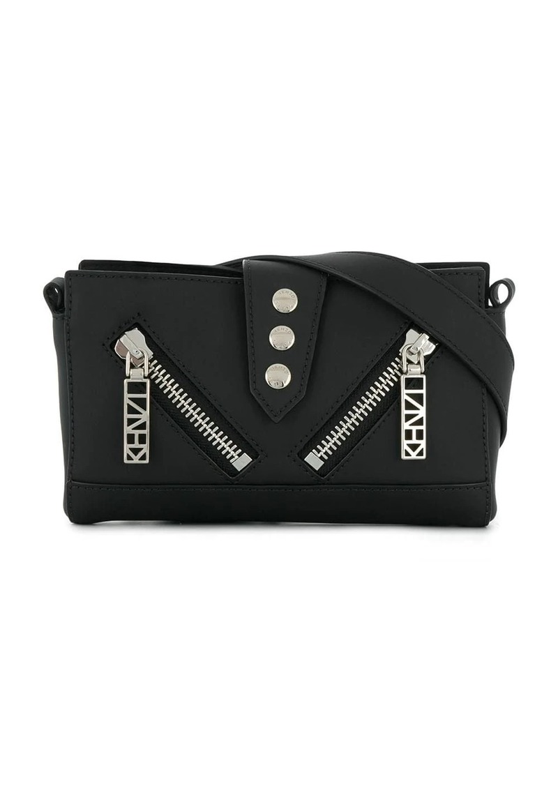 Kenzo zipped mini shoulder bag