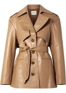 Khaite Billy Leather Coat