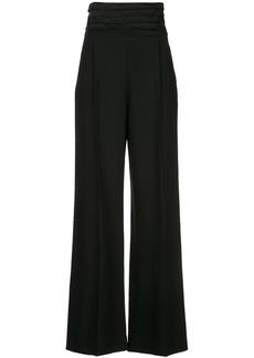 Khaite Blaine high-waisted trousers