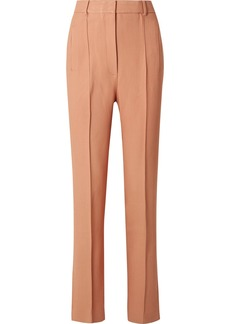 Khaite Carla Twill Straight-leg Pants