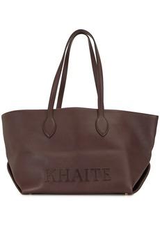 Khaite Florence leather tote bag