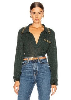 KHAITE Ellen Raglan Sleeve Sweater