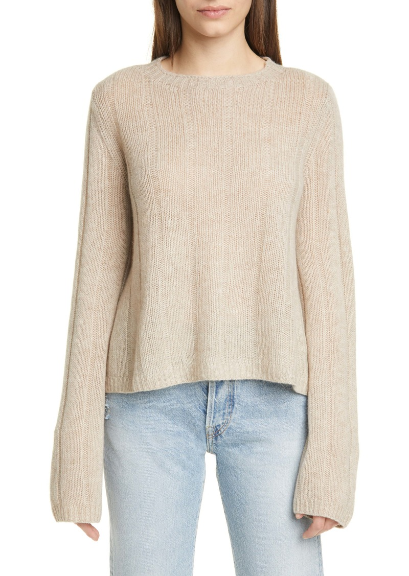 Khaite Nelley Ribbed Cashmere Sweater