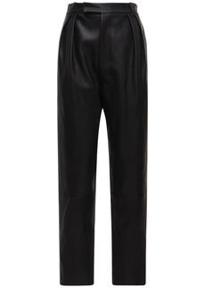 Khaite Magdeline Leather Pants