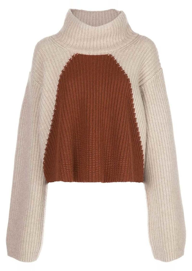 Khaite Marianna colour-block wool jumper