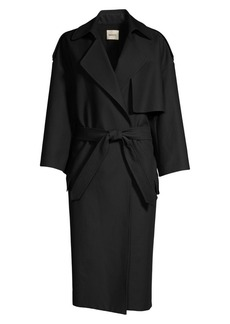 Khaite Mattias Cotton Trench Coat